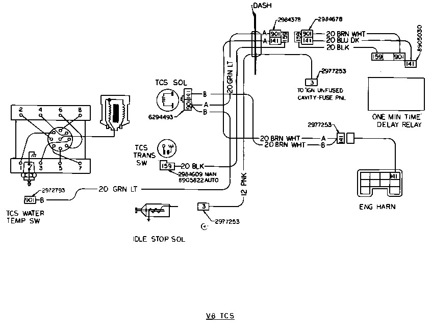 starter wiring diagram for 1979 chevy truck