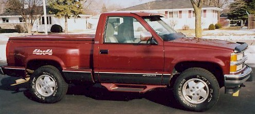 1994 Chevy Stepside Low miles Customized - Selling Assistant ...