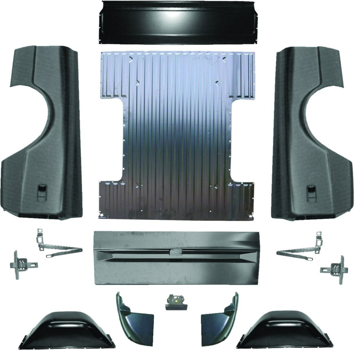 67 72 Chevy Truck Parts >> Bed Parts
