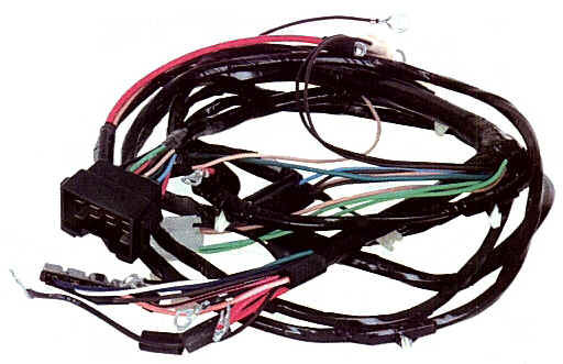 gmck5frontlightharness wire harness 3 Dodge Trailer Wiring Colors at edmiracle.co